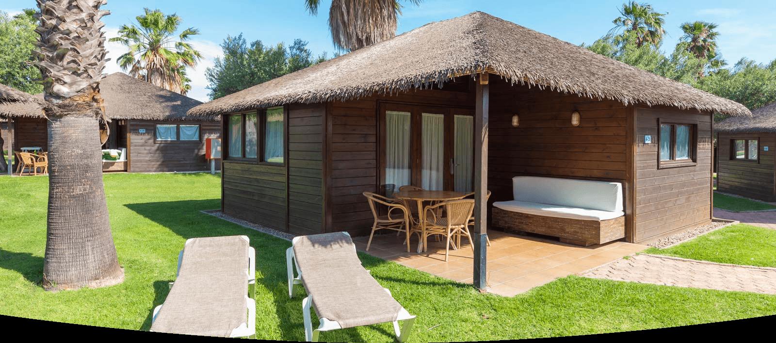 Bungalows aloha de madera en cambrils - Fotos de bungalows de madera ...